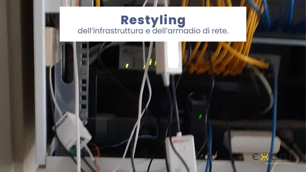 Restyling dell'infrastruttura e del tuo armadio di rete